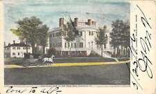 Thomaston Maine Knox Home Montpelier Horse Carriage Antique Postcard K41345