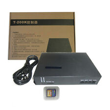 T-200K online Led Pixel DMX Controller Program by PC For WS2812B WS2811 WS2801