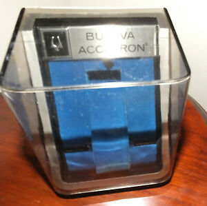 BULOVA ACCUTRON DISPLAY PRESENTATION BOX (FLIP LID)