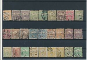 D133938 Hungary Nice selection of Used ot VFU Stamps Mixed Condition