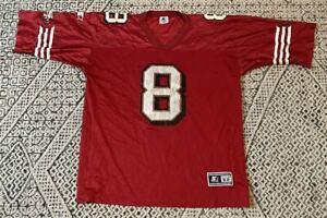 Vintage Steve Young San Francisco 49ers Starter NFL Football Jersey Size 52