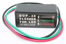 Flasher Relay for LED indicators for Motorcycle/Car - 3 PIN Resistor up to 240W