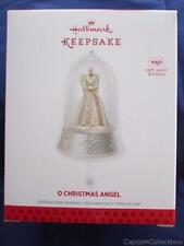 2013 Hallmark Ornament O Christmas Angel Magic Light Sound Motion QXG1742 NIB