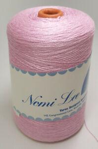 Full Cone Nomi Lee Knitting Machine Yarn - Lorraine Acrylic - Cotton Candy