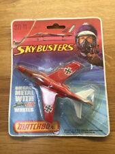 Matchbox 1974 Skybusters SB11 German Alpha Jet Plane. Red MINT Vintage