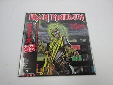 IRON MAIDEN KILLERS EMS-91016 with OBI Japan VINYL  LP