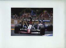 Eddie Cheever usf&g flèches A11 F1 saison 1989 signé Photo 1