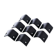 8x Black Guitar Amp Amplifier Speaker Cabinet Corner Protector Instrument