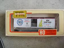 HO Scale Train Miniatures Commemorative New Hampshire Box Car Kit NIB 2013
