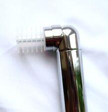 28mm bay window curtain pole corner bend joint elbow brass silver black white ch