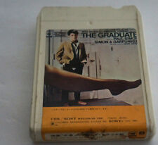 THE GRADUATE 8 Track Japan Import Audio Tape Cartridge Paul Simon & Garfunkel