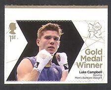 GB 2012 Olimpiadi/Sport/Medaglia d'Oro Vincitori/Pugilato/Luke Campbell 1 V S/A (n35664)