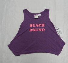 Roxy Kids Sz 5 Shirts Tank Tops Beach Bound Purple