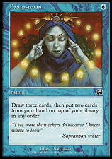 1x Brainstorm Mercadian Masques MtG Magic Blue Common 1 x1 Card Cards