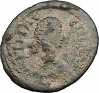 AELIA FLACILLA 379AD Ancient Rare Roman Coin VICTORY CHI-RHO Christ monog i32820