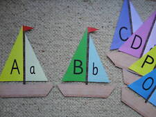 Teaching Resources - Alphabet Frieze - Boats