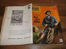 MOEWIG WILDWEST  # 137 -- WOLF unter WÖLFEN / HENRY FONDA-Titelbild 1959
