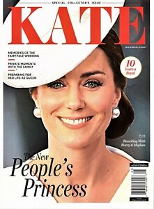 """Centennial Icons Magazine: """"KATE"""" ~ People's Princess ~ Royal Family Moments NEW"""