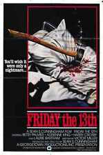 Friday 13th 1 Poster 02 A3 Box Canvas Print