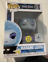 Funko Pop! Disney Madame Leota GITD Haunted Mansion Disney Parks Exclusive