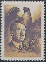 Stamp Replica Label Germany 0049 WWII Germany' Leader Fuhrer Hitler Eagle MNH