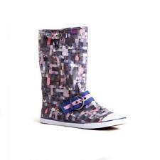 Stivali Sugar Origami Viola boots Primavera estate vintage spring ceck spring 39