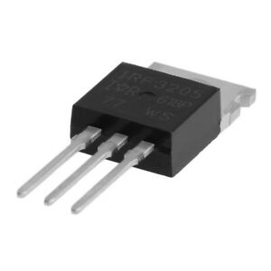 Universal IRF3205 Power Transistor 20pcs 55V/110A Accessory MOSFET Durable