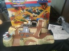 Micro Machines Wolf Ridge Battleground Playset by Galoob 1991 Combat Vintage
