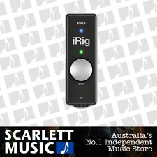 iK Multimedia iRig Pro Audio Interface for iOS Devices *BRAND NEW*