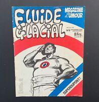 Fluide Glacial n°8. Magazine d'umour. Éd Audie 1976