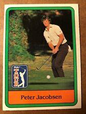 Peter Jacobsen 1981 Donruss PGA Tour Golf Card #26, NM (BIGJ'S)