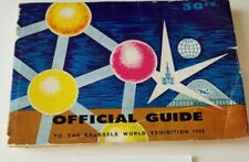 Extremely Rare - 1958 Worlds Fair Brussels Guide 300+pages. Priced to sell!