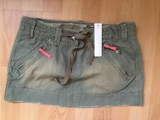 BNWT RED HERRING DEBENHAMS Size 8 (36EU)  Green Khaki Skirt