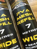 PVA MESH REFILL TOTAL CARP FISHING CRAZE INTRO OFFER 7M £2.99 RRP £4.99 35mm