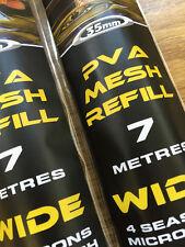 PVA MESH REFILL TOTAL CARP  CRAZE INTRO OFFER 7M £2.99 RRP £4.99 35mm