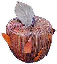 Straw Leaf Apple Natural Orange Country Fruit Craft Floral Decor Filler New 757i