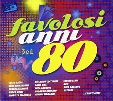 I FAVOLOSI ANNI 80   EROS RAMAZZOTTI/EDUARDO BENNATO/LUCIO DALLA/+  3 CD NEU