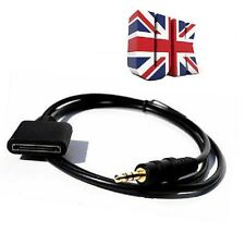 3.5mm macho a hembra conector AUX para iPod iPhone 4 4s iPad Dock Adaptador Cable
