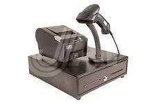 COMBO PKG-DRAWER 4B5C 13x13½ + PRINTER 58mm Ppr 100mm Spd Logo USB WIN 10+SCAN'R