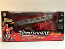 Transformers: Robots in Disguise - Optimus Prime Firetruck ( New Sealed) 2001