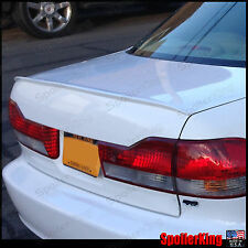 Honda Accord 4dr 4d sedan 4 door Rear trunk add on lip spoiler M3 wing 1998-2002