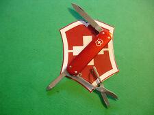 "NTSA SWISS ARMY VICTORINOX MULTIFUNTION POCKET KNIFE ""RED ALOX MONEY CLIP"""