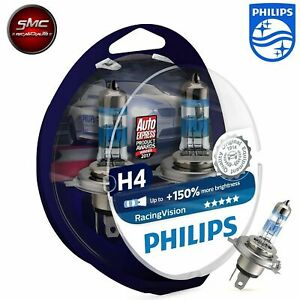 PHILIPS kit lampade H4 X-TREME Racing Vision 150% più luce cod. 12342RVS2