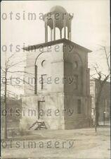 1929 Bell Tower Capitol Square Richmond Virginia Press Photo