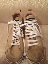 The Hundreds Men's High Top Canvas Sneakers Shoes Khaki Size 8