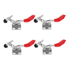 4 Pack 3.12 Inch 201A Horizontal Toggle Clamps 60LB Quick Release Hand Tool