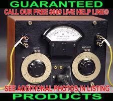 ONE-OF-A-KIND CUSTOM MADE VU METER STEREO AUDIO AMP AMPLIFIER BRASS STEAM PUNK