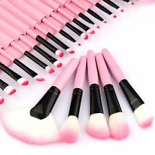 24 PZ Professionale Make Up Brush Set Fondotinta Kabuki Pennelli Cosmetici Make