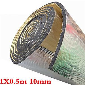 Car Sound Deadening Mat Sound Deadener Insulation Fit For Firewall Hood Floor
