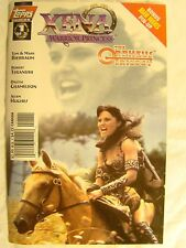 Xena Warrior Princess The Orpheus Trilogy No 1 Photo Cover Lucy Lawless Comic